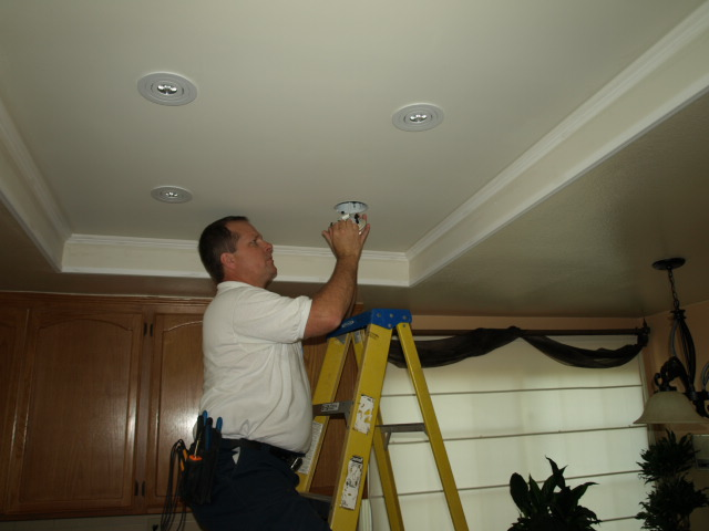Lake Sherwood Lighting Recessed Lighting Installation